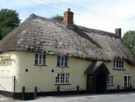 Ye Olde Poppe Inn Pub in Tatworth